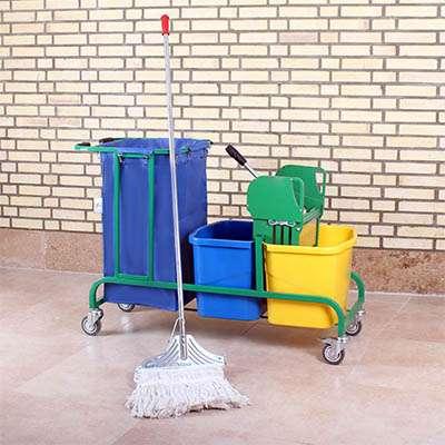 ترالی نظافتی مدل 2100